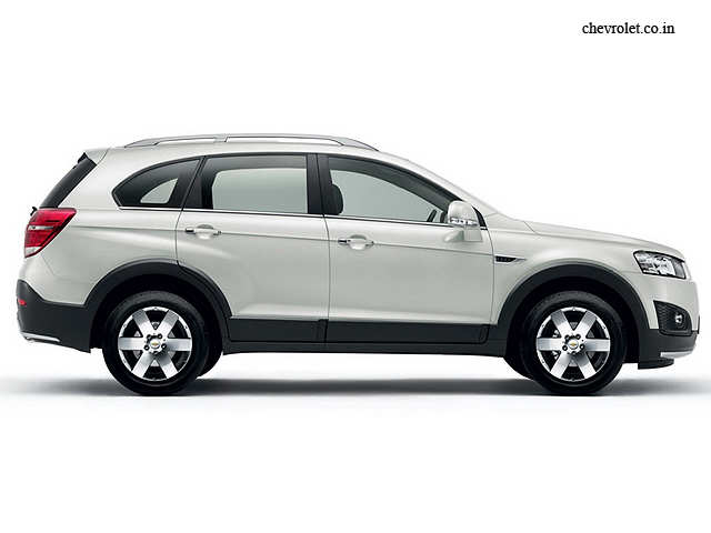 2015 Chevrolet Captiva Launched In India At Rs 25 13 Lakh