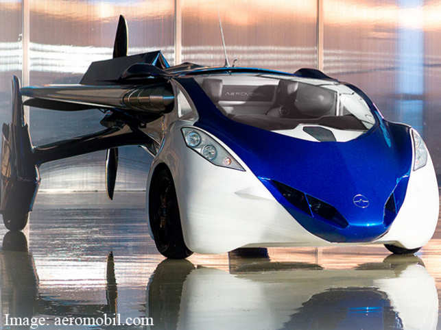 The Car Is Equipped With An Autopilot And A Parachute For Emergencies Its