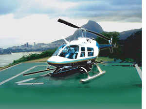The govt is discussing a proposal to allow its employees to claim LTC for domestic helicopter flights, a move seen boosting the helicopter-ferrying business.