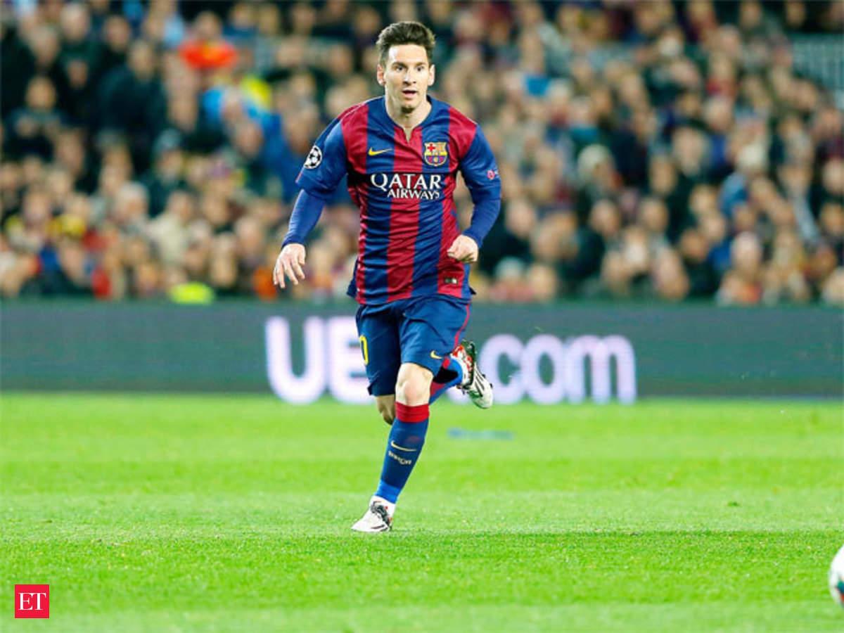 Lionel Messi The Center Of Gravity Economic Times E Money