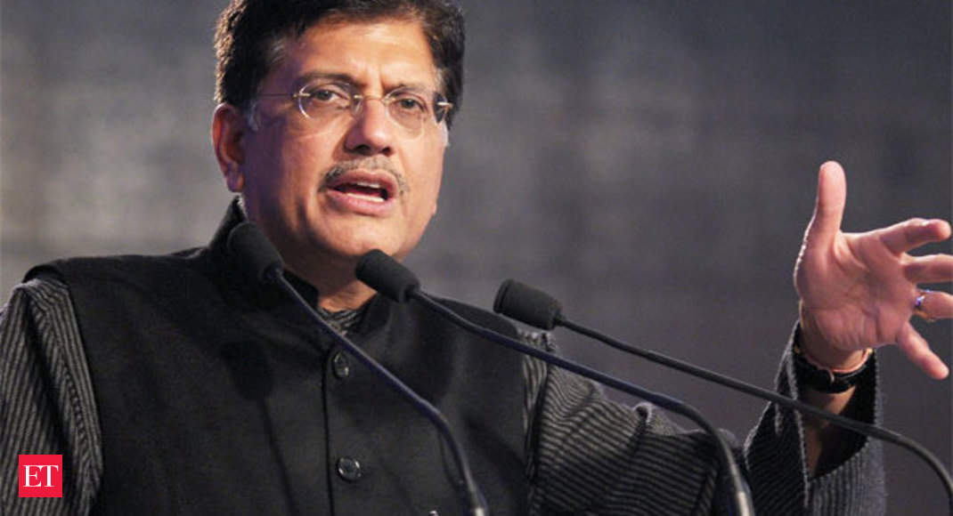 Coal auctions to kickstart investment cycle: Piyush Goyal ...