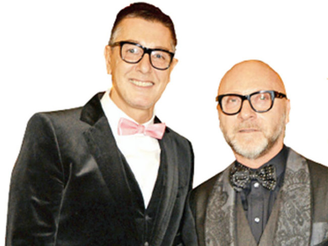 Why Fashion Designers Domenico Dolce And Stefano Gabbana Are Making Headlines The Economic Times