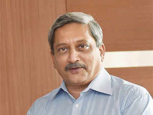 """Our strength lies in our belief in nonviolence, but it also has to be displayed by strength,"" Defence Minister Parrikar said."