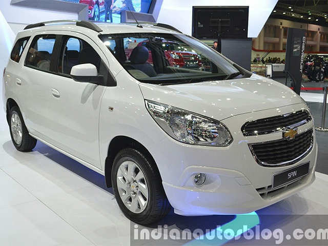 Rear End Features India Bound Chevrolet Spin Showcased At 2015