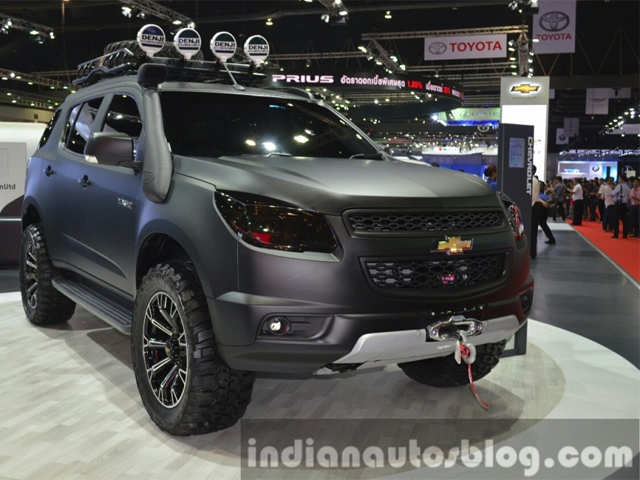 Chevrolet Trailblazer 2015 >> Adventure Centric Version Of The Trailblazer 2015