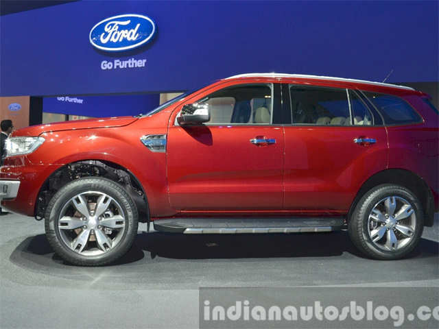2015 Ford Everest Prices In Thailand