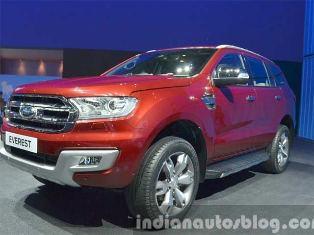 India Bound Ford Endeavour Launched At Bangkok Motor Show