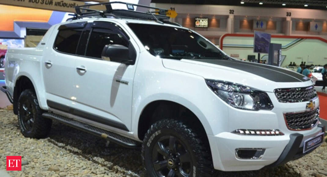 Price Starts At Rs 18 56 Lakhs Chevrolet Colorado High Country Unveiled At 2015 Bangkok Motor Show The Economic Times