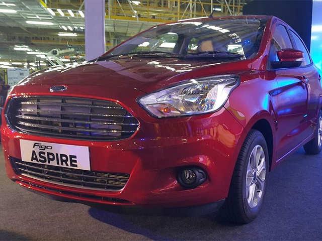 Ford Figo Aspire Unveiled