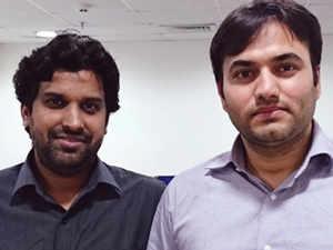 Deepak Chauhan (L) and Abhishek Kumar
