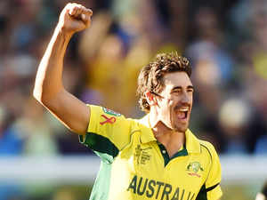 The Australian quick, who tops the ICC's one-day bowling rankings, has sustained a minor knee strain.