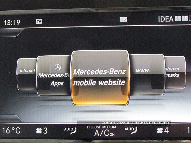 537c5f76e1 Apps are now available with all Benz cars - Mercedes drives in connected  cars to India