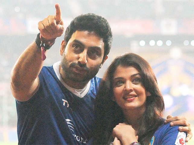 """Big excitement at the shoot today asAbhishekBachchanshoots his special appearance inJAZBAA,"" Gupta tweeted."