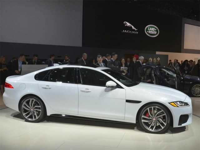 India Bound 2016 Jaguar Xf Debuts At New York Auto Show India