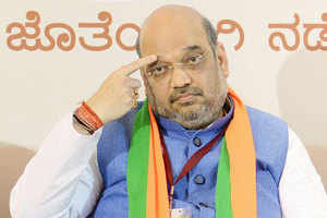 BJP chief Amit Shah took a jibe at Rahul Gandhi, telling Congress go look for its 'missing' leader instead of looking for faults in the Centre.