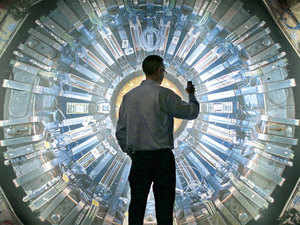 Built to study the smallest known building blocks of all things, called the Higgs Boson, or the God Particle, the LHC aims at recreating the conditions that existed immediately after the big bang