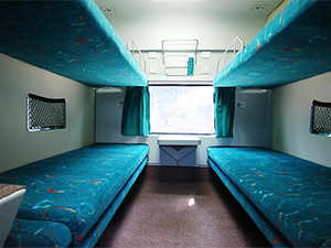 National Institute Of Design To Design Coach Interior Pantry Car