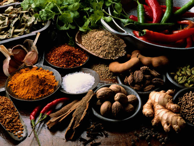 Traditional Indian kitchens are full of various spices and herbs having specific aroma, taste and therapeutic value. India may be recognised as a `powerhouse of spices'.