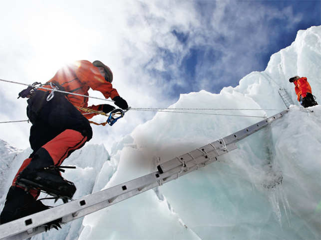 why the only thing tougher than climbing mt everest is raising the
