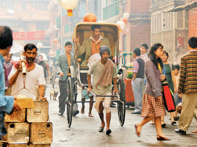 Bollywood romance with period films continues. Detective Byomkesh Bakshy! is the latest example of that.