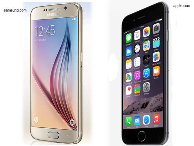 45bf7b287500 How the iPhone 6 compares to its biggest rival