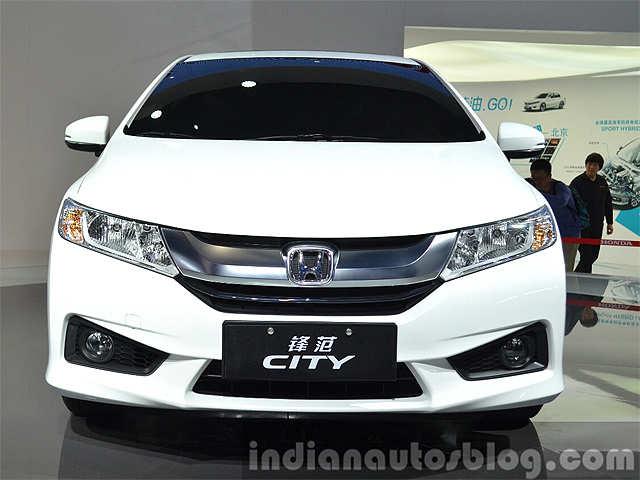 Chinese Spec Honda City Showcased At Auto Shanghai 2015 New Honda