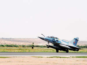 The two upgraded aircraft, flown in byIAFpilots from France covering Greece, Egypt and Qatar in over seven days, landed at theGwaliorAir Force Station.
