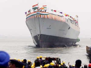 (Representative image) The ship's superstructure is made of composite material while the remaining part including hull uses steel.