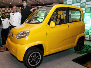 In Auto Expo last year, Bajaj Auto had said it was ready to roll out its RE60 once it received a go ahead from the government for the quadricycle.