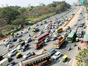 The city police tweeted that BMTC and KSRTC buses would be functional and requested the public to go about their lives as usual.