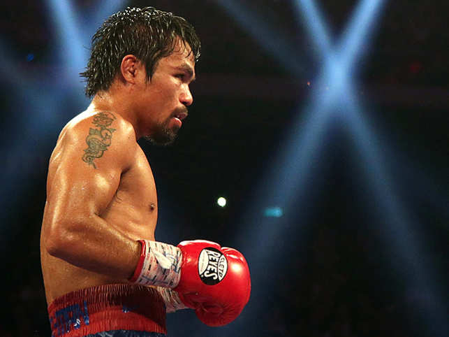 for boxer manny pacquiao it all started with a fistful of rice