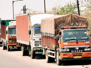 """State transport commissioner MaheshZagadeissued a circular banning the use of the phrase """"Horn Ok Please"""" on the rear side of commercial vehicles."""