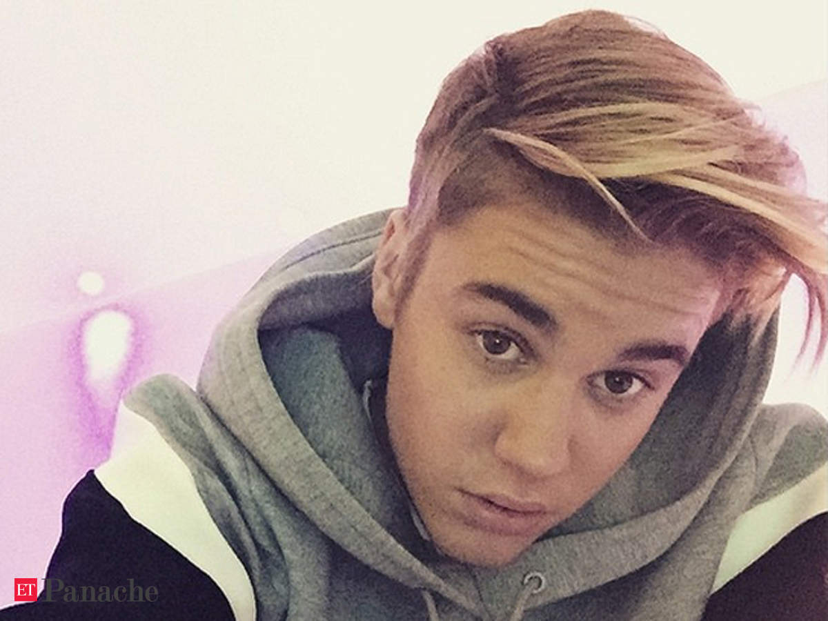 Justin Bieber Unveils His New Hairstyle The Economic Times