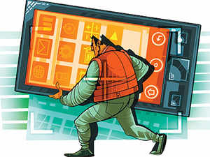 The lure of e-commerce has prompted smartphone rivals Apple and Samsung to take contrasting yet concrete steps for the first time in India.
