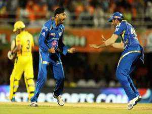 Mumbai Indians beat Chennai Super Kings by six wickets in the Indian Premier League here today.