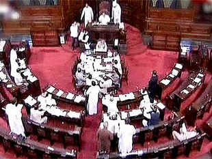 Parliamentary Affairs MinisterVenkaiahNaidusaid nobody forced Congress members to walk out and appreciatedGadkarifor replying to all questions.