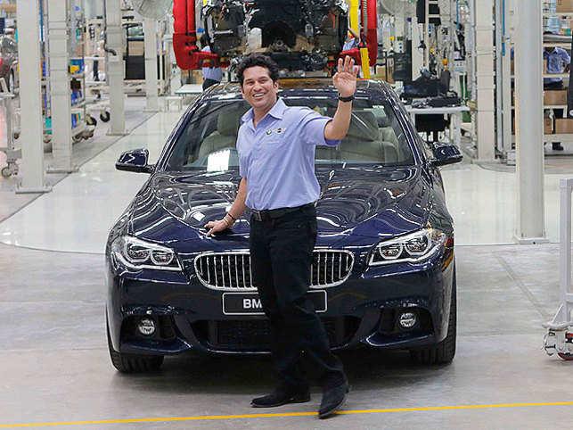 When Sachin Tendulkar Assembled A Bmw Car At Its Chennai Plant The
