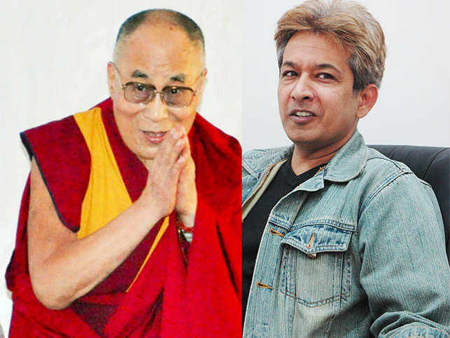 "My encounter with the Dalai Lama in 2014 left me feeling ""fortunate and blessed"", says hair stylist Jawed Habib."
