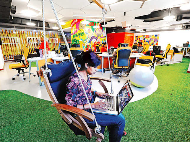 As 'sitting is the new smoking', companies are ensuring employees are not confined to their desks.
