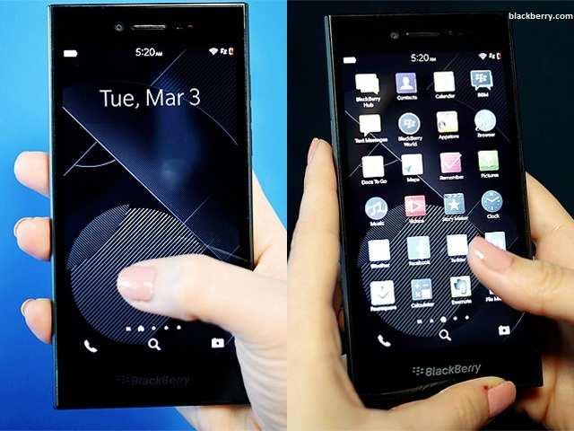 Apps - BlackBerry Leap review | The Economic Times