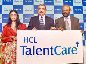 HCL is also banking on the acquisition route to fill future gaps in its content, technology solutions and staffing expertise.