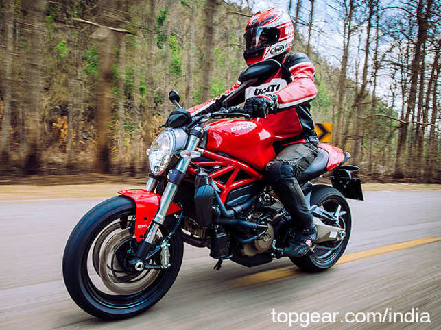 Ducati Monster 821 >> Ducati Unleashes The Monster 821 To Wreak Havoc On Indian