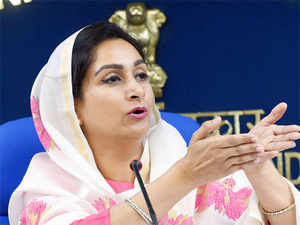"""These projects will help in a big way in reducing the wastage of food and the Ministry will also provide grant of Rs 274.9 crore on these projects."" Food Processing Minister Harsimrat Badal said."