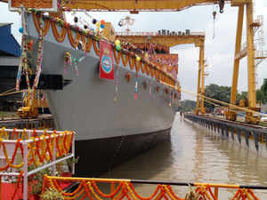 Kavaratti is the last of the four anti-submarine warfare class stealth corvettes being built for India under Project 28.