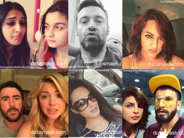 Dubsmash has sent people into a tizzy. Celebrities - across the world - have taken a fancy to this.Here is our list of celebs who have fallen for the app.
