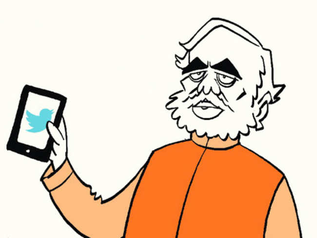 PM Narendra Modi's digital presence during first year in office