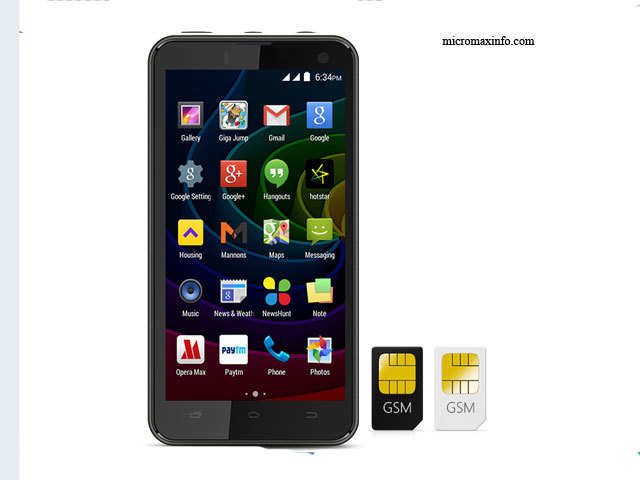 Android 4 4 2 Kitkat Micromax Bolt Q335 With Quad Core Processor