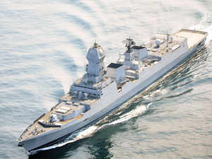 The INS Kolkata, lead ship of the Kolkata class destroyers, was supposed to receive a compliment of 32 Barak 8 SAMs for its air-defence. The navy will test the Indo-Israeli SAM soon.