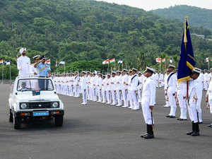 As many as 320 cadets, including 28 women of the Indian Navy and Coast Guard, passed out from the INA at nearby Ezhimala today.