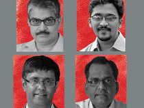 Now is time to go back to the classroom. Meet Prof Sanjay Bakshi, Neeraj Marathe, Venkatesh Panchapagesan and Ravi Sundar Muthukrishnan ..